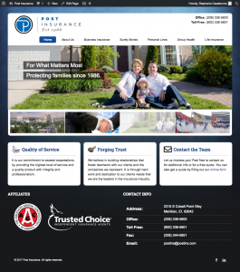 Post Insurance and Construction Bonding Services Meridian Idaho Homepage